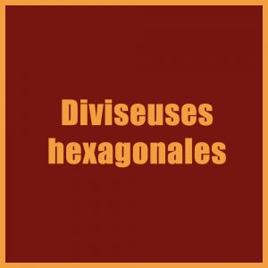 Diviseuses hexagonales