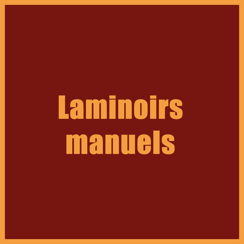 Laminoirs manuels